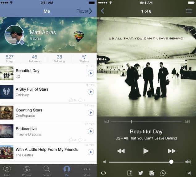 Soundshare App Design