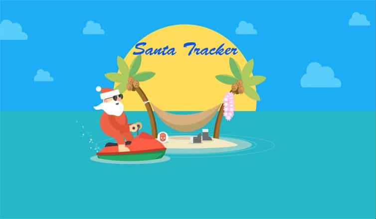 Santa Clause Tracker By NORAD and Google Santa Tracker