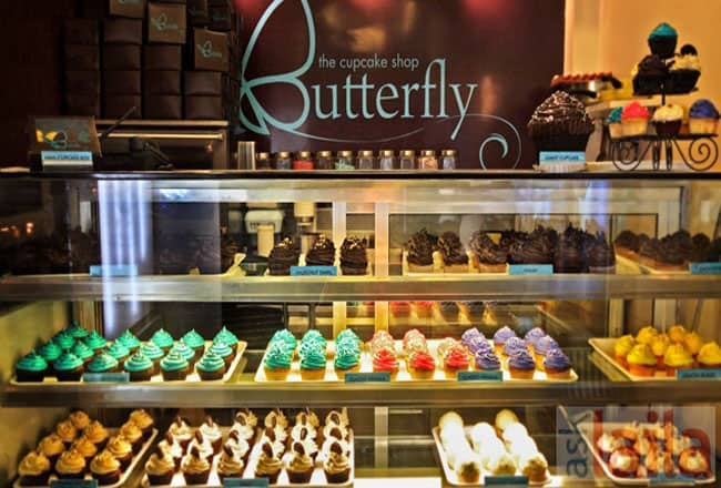 Butterfly Bakery owned by Sarah Jane Dias located in Khar West, Mumbai
