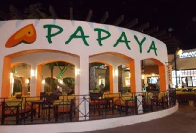 Cafe Papaya owned by Ashiq Abu located in Kaloor, Kochi