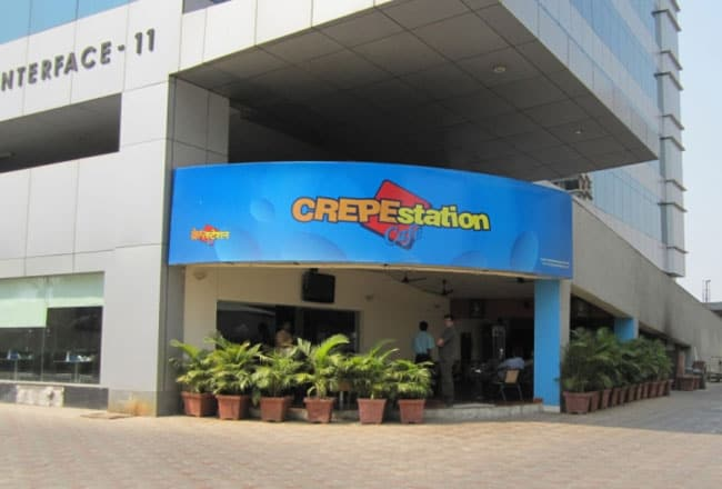 Crepe Station Cafe owned by Dino Morea located in Malad (W), Mumbai