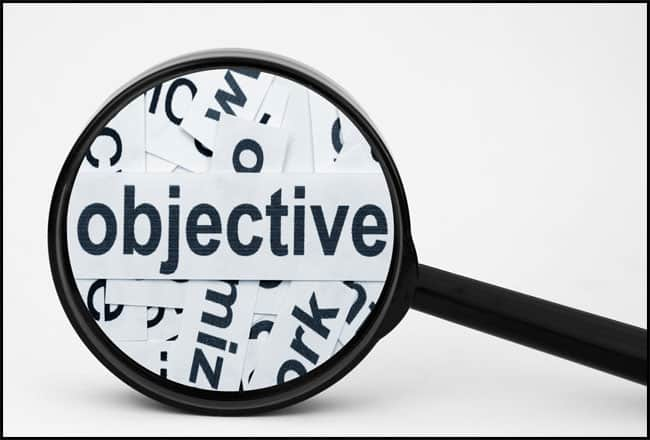 Establish your primary objectives