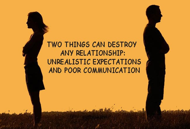Expectations and Communication