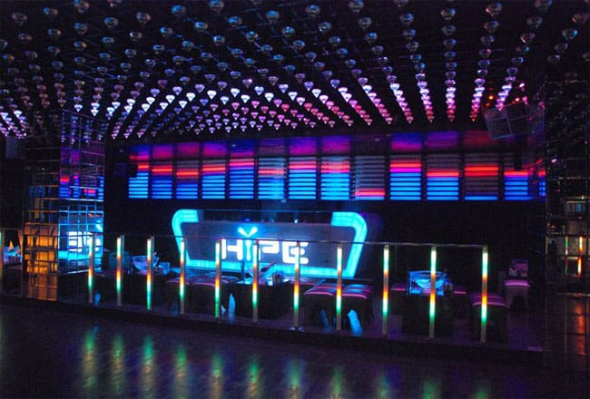 Hype owned by DJ Aqeel located in Dwarka, New Delhi