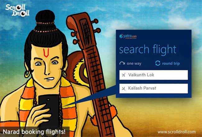 Narad Booking Flights