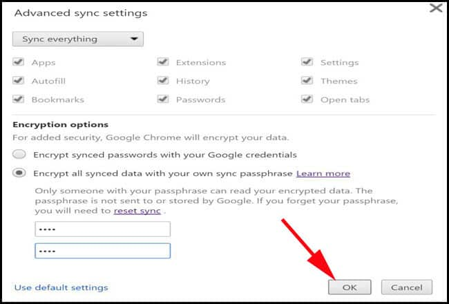Prevent Google from displaying your password details