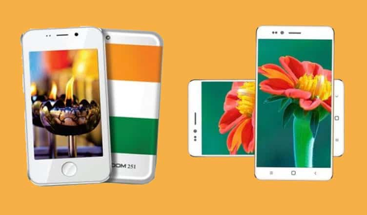 Ringing Bell Freedom 251Cheapest Android Phone in the World
