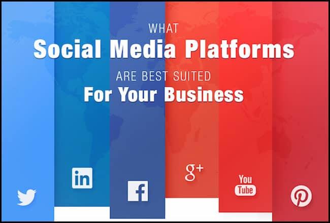 Select your social network platform