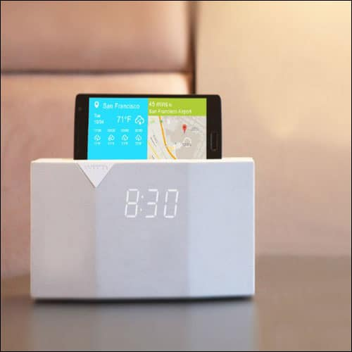 WITTI Design BEDDI Smart Radio Alarm Clock Speaker with Smart Home Integration