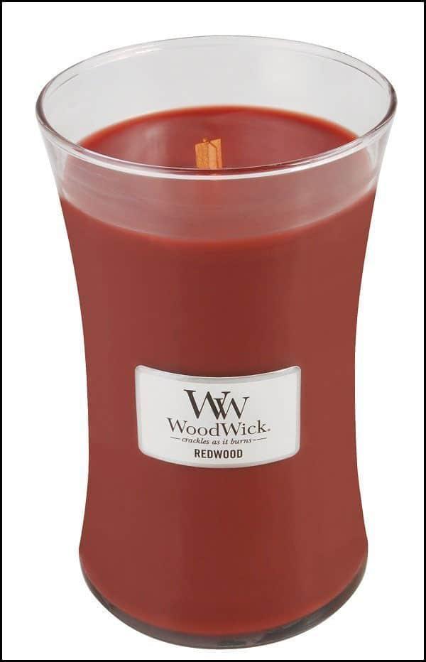 Woodwick Candle Redwood Large Jar