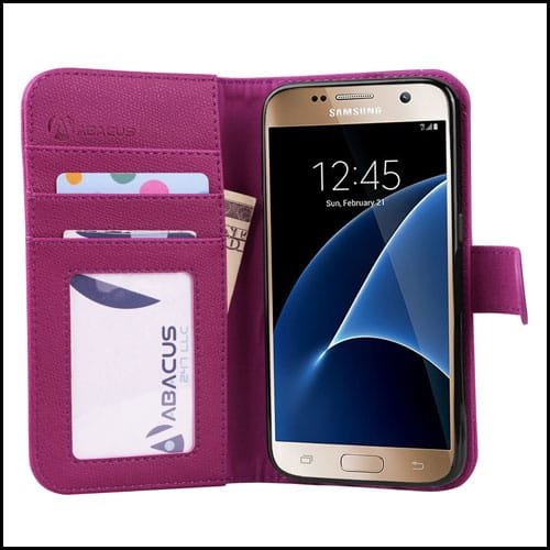 Abacus24-7 Wallet Case for Samsung Galaxy S7