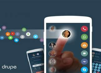 Drupe A smartly designed dialer app for your Android