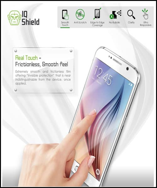 IQ-Shield Best Samsung Galaxy S7 Screen Protector