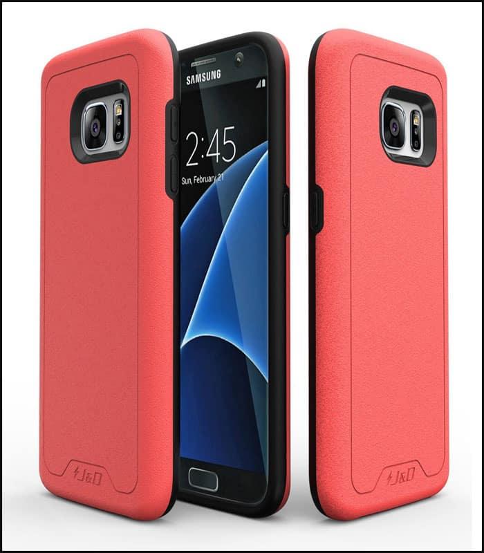 J&D Tech Samsung Galaxy S7 Case