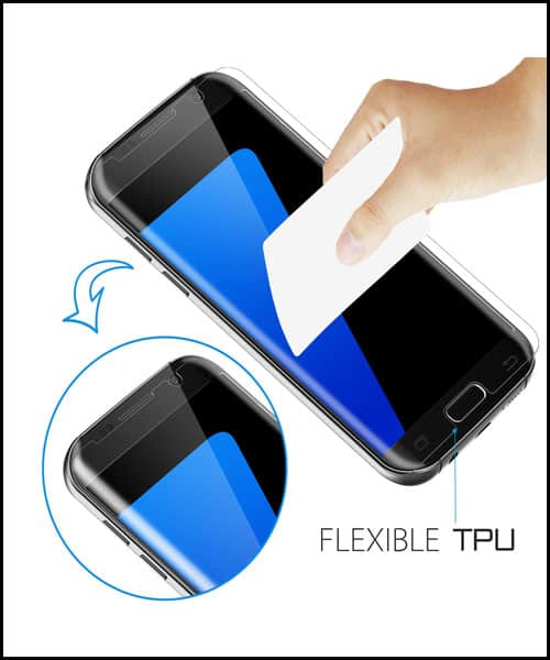 JETech Samsung Galaxy S7 Edge Screen Protectors