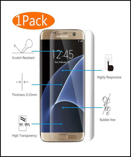 KingAcc Samsung Galaxy S7 Edge Screen Protectors