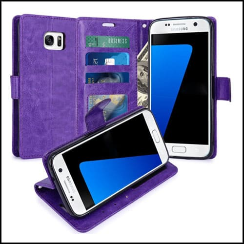 LK Wallet Case for Samsung Galaxy S7