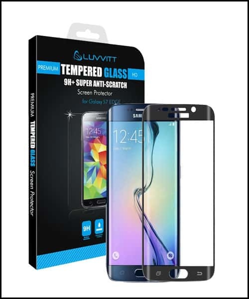 LUVVITT Samsung Galaxy S7 Edge Screen Protectors