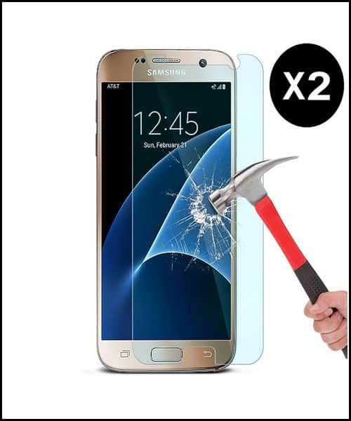 Omoton Best Samsung Galaxy S7 Screen Protector