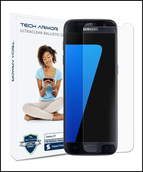 Tech Armor Best Samsung Galaxy S7 Screen Protector