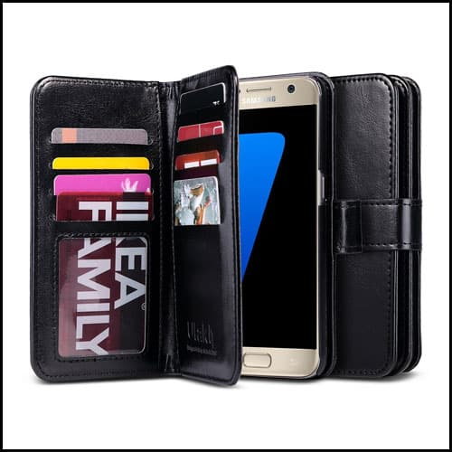 ULAK Wallet Case for Samsung Galaxy S7