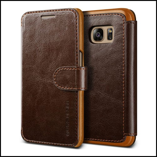 VRS Design Wallet Case for Samsung Galaxy S7