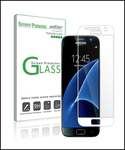 amFilm Best Samsung Galaxy S7 Screen Protector