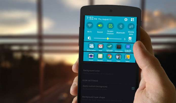 DIESEL APP Launch Your Favourite Apps from Notification Bar on Android