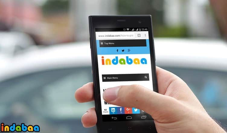 How to Save a Webpage as PDF On Android Device