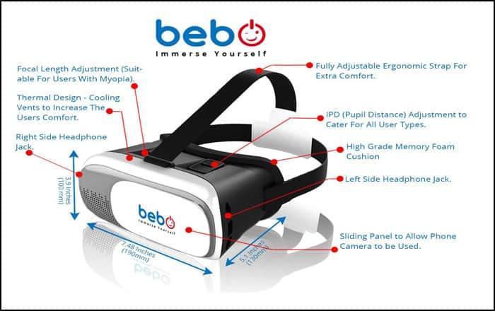 Bebo Best VR Headset