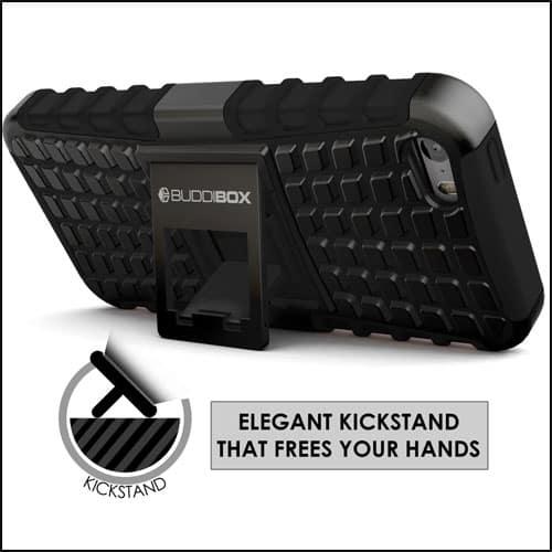 Buddibox Best iPhone SE Kickstan Case