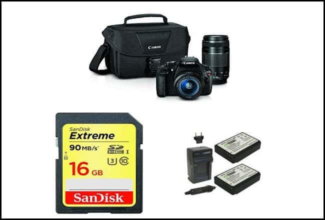 Canon EOS Rebel T5 Digital SLR Camera
