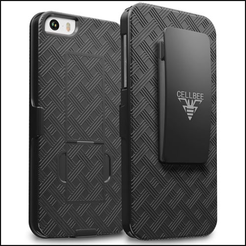 CellBee Belt Clip Case for iPhone SE