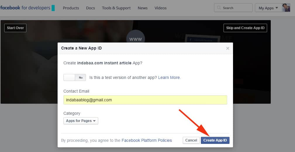How To Setup Facebook Instant Articles For Wordpress Blog