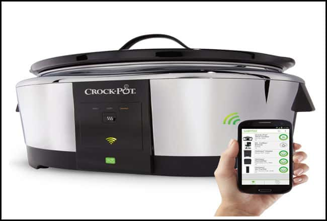 Crock-Pot Smart Wi-Fi-Enabled WeMo 6-Quart Slow Cooker