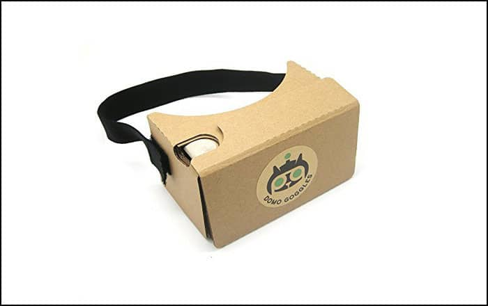 Domo CARDBOARD Best Google Virtual Reality Cardbox