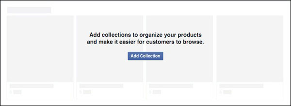 Facebook Add Collection