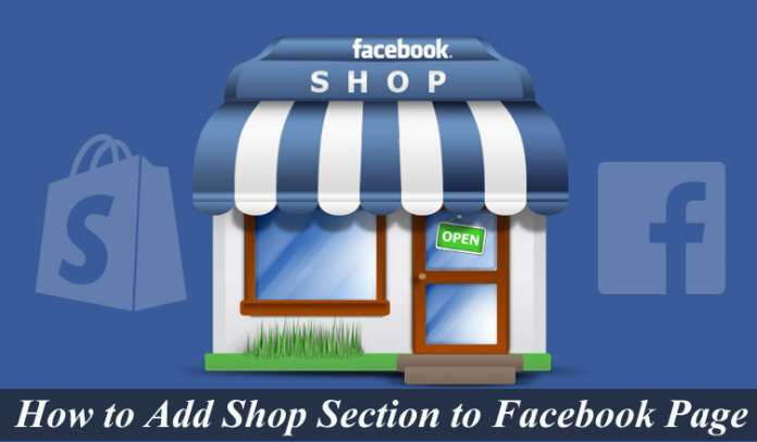 How to Add Shop Section to Facebook Page