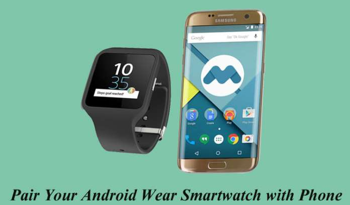 How to Pair Android Wear SmartWatch with Phone