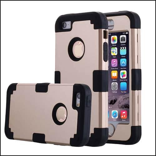 Pandawell iPhone SE Bumper Case