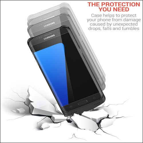 Powerbear Best Samsung Galaxy S7 Edge Battery Case