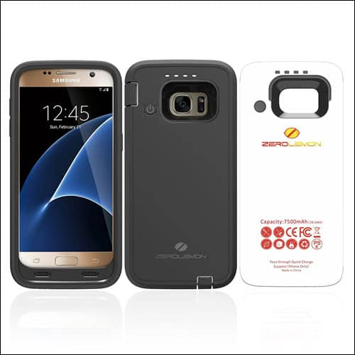 ZeroLemon Galaxy S7 battery case