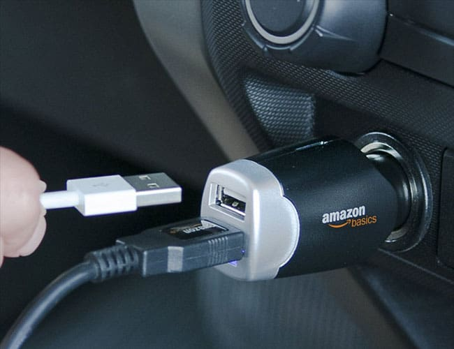 AmazonBasics Best Car Chargers for iPhone