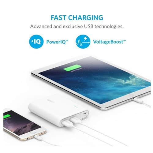 Anker External Power Banks for Samsung Galaxy S7 and S7 Edge