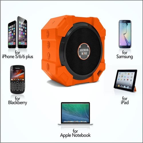 Armor Mine Best Wireless Bluetooth Speakers for iPhone