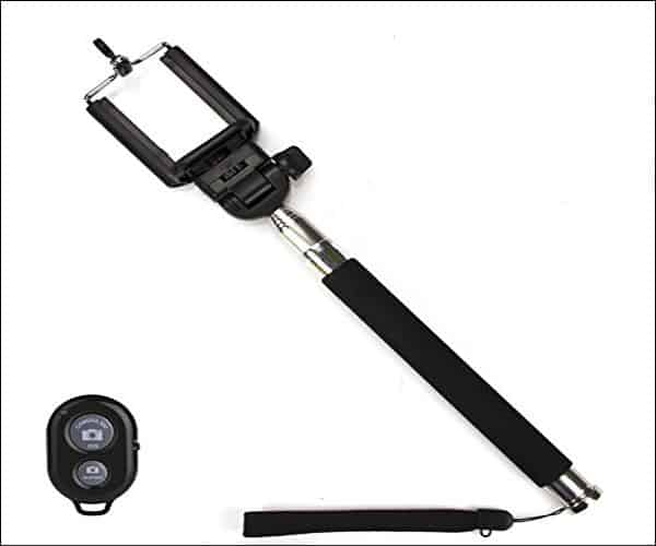 Cokyn Selfie Stick Monopod with Bluetooth Remote for iPhone