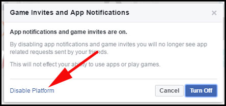 Disable Games Invites