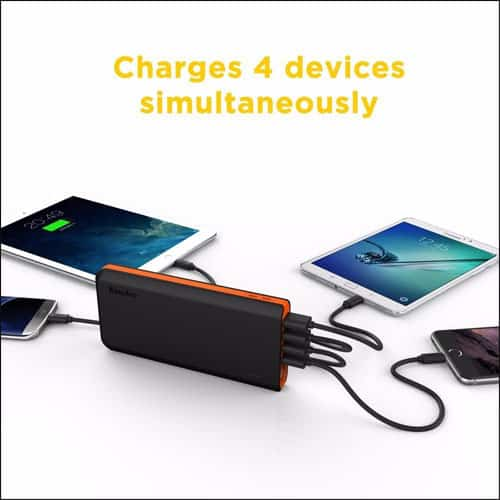 EasyAcc Best Power Bank Charger for iPhone and iPad