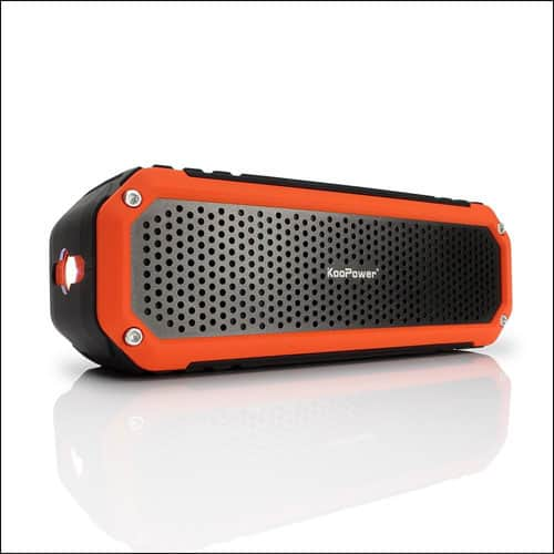 Koopower Best Wireless Bluetooth Speakers for iPhone