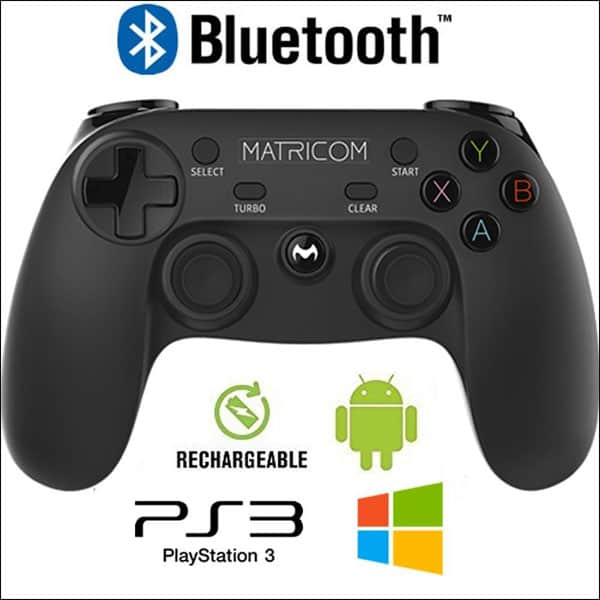 Matricom Wireless Rechargeable Bluetooth Pro Game Pad Joystick Controller